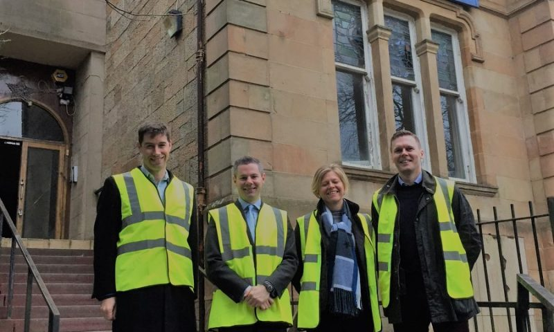 Derek Mackay MSP Visits Glasgow Together Site