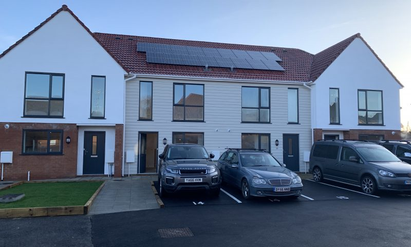 Knowle West Development Completed